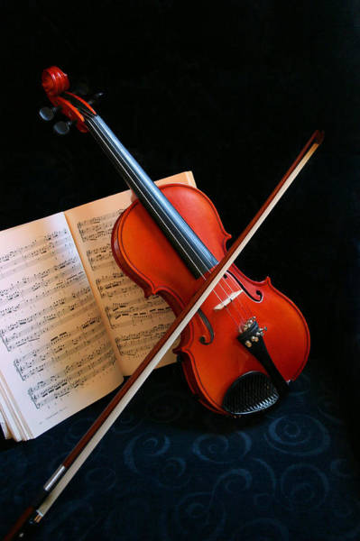 Photograph - Violin by Kristin Elmquist
