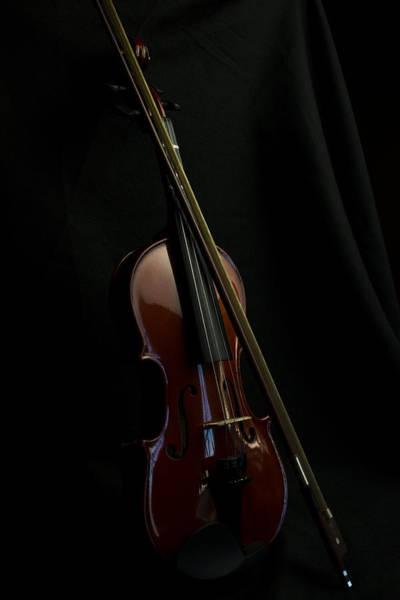 Photograph - Violin Portrait Music 30 by David Haskett II