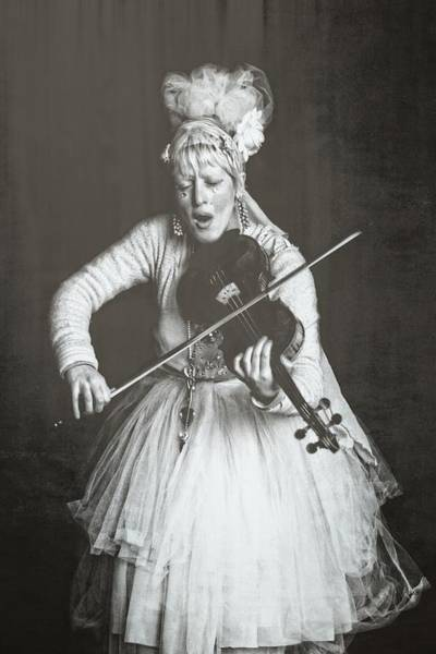 Photograph - Violin Songstress by Alice Gipson