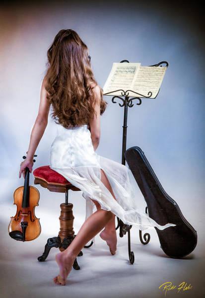 Photograph - Violinista #1 by Rikk Flohr