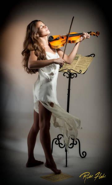 Photograph - Violinista #3 by Rikk Flohr