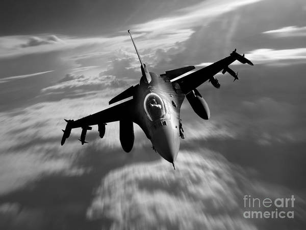 General Dynamics Digital Art - Viper by J Biggadike
