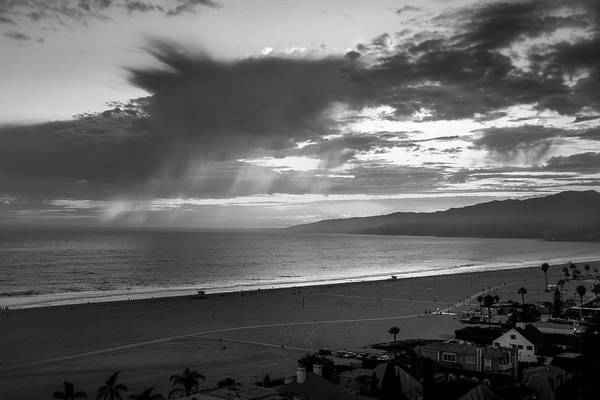 Photograph - Virga Cloud Formation Over The Bay by Gene Parks