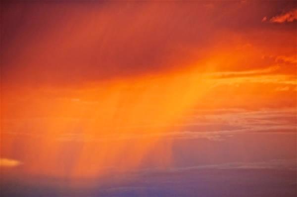 Photograph - Virga Sunset by Flying Z Photography by Zayne Diamond