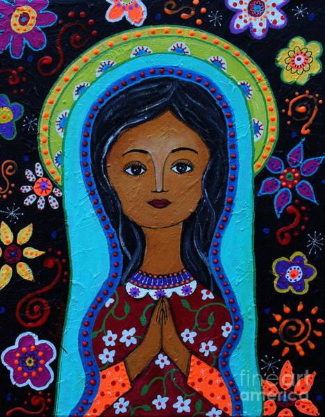 Painting - Virgin Guadalupe 10 by Pristine Cartera Turkus