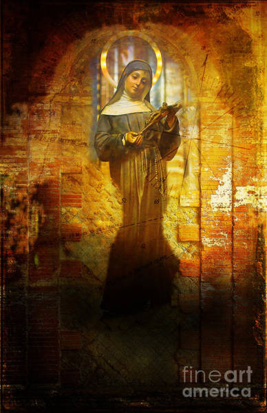 Photograph - Virgin Mary by Craig J Satterlee