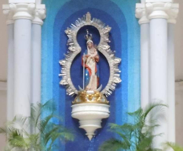 Photograph - Virgin Mary Shrine by Karen J Shine