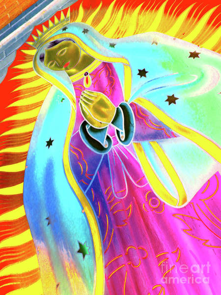Indio Photograph - Virgin Of Guadalupe by Chuck Taylor