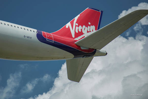 Photograph - Virgin G V F I T Dancing Queen Britain Flag Carrier Airplane Art by Reid Callaway