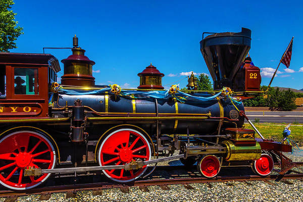 Gauge Photograph - Virgina Truckee No 22 by Garry Gay