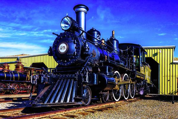 Wall Art - Photograph - Virgina Truckee Steam Locomotive 25 by Garry Gay