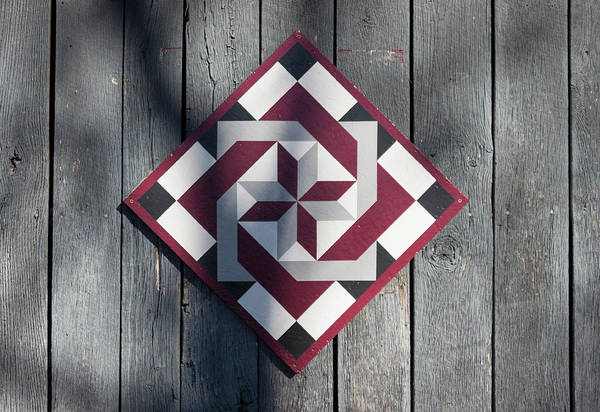 Wall Art - Photograph - Virginia Barn Quilt Series II by Suzanne Gaff