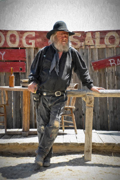 Photograph - Virginia City Cowboy by Jim Vallee