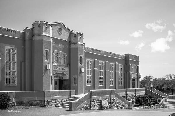 Photograph - Virginia Military Institute Crozet Hall by University Icons