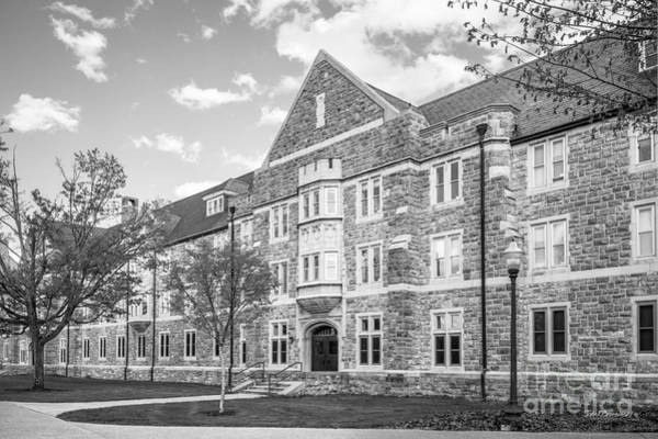Photograph - Virginia Tech Campbell Hall by University Icons