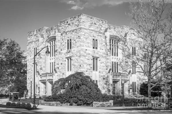 Photograph - Virginia Tech Newman Library by University Icons