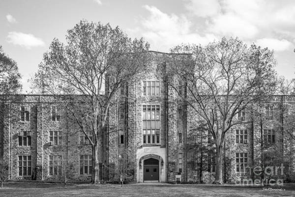 Photograph - Virginia Tech Seitz Hall by University Icons