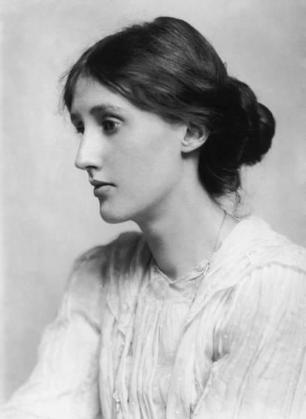 Wall Art - Photograph - Virginia Woolf Portrait - 1902 by War Is Hell Store