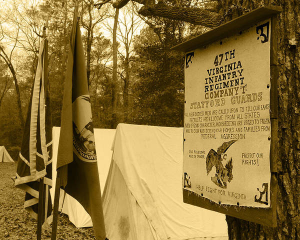 Wall Art - Photograph - Virginia's Stafford Guards by Frank Savarese