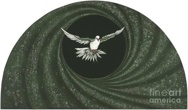 Painting - Viriditas- The Holy Spirit  by William Hart McNichols