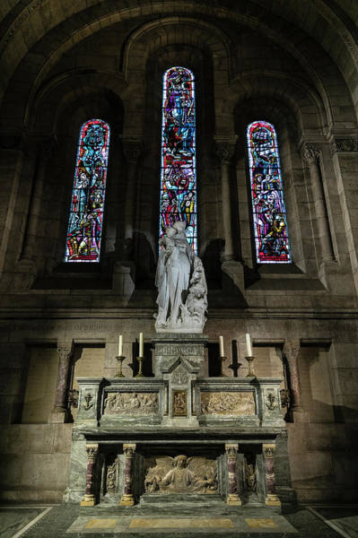 Wall Art - Photograph - Virign And Child Altar by Stephen Stookey