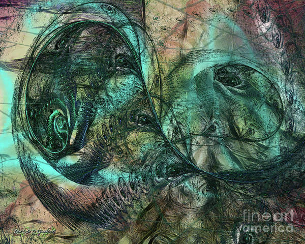 Digital Art - Virulent Germination by Rhonda Strickland