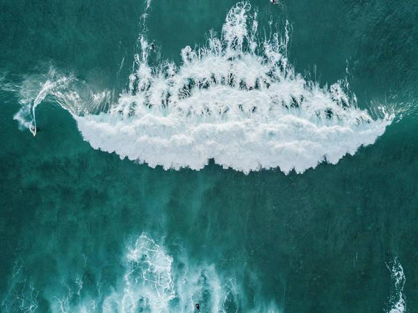 Wetsuit Wall Art - Photograph - Big Wave, Tenerife, Canary Islands by Sergio Villalba