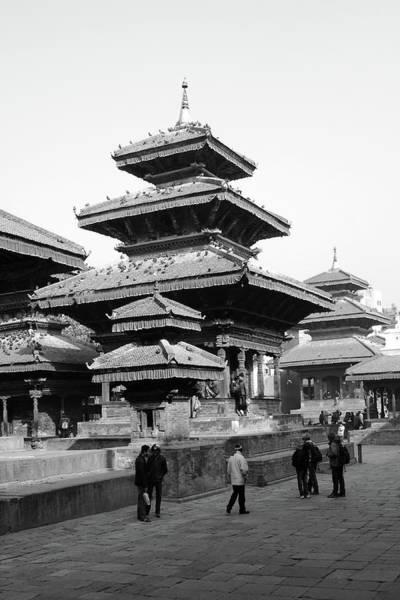 Photograph - Vishnu Temple, Kathmandu Durbar Square, Nepal by Aidan Moran