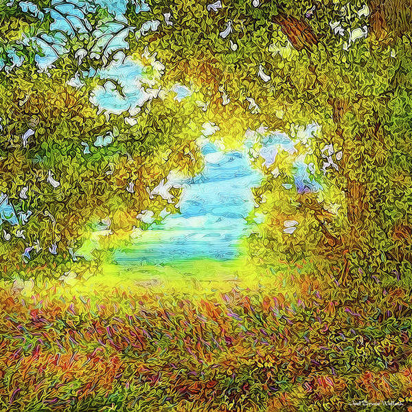 Digital Art - Vision From The Meadow by Joel Bruce Wallach