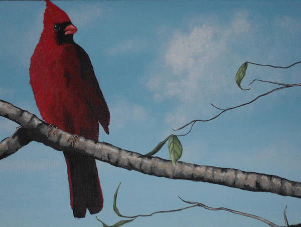 Wall Art - Painting - Vision In Red Too by Candace Shockley