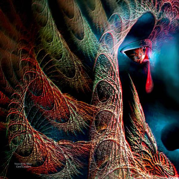 Mixed Media - Vision Of An Artist by Carol Cavalaris
