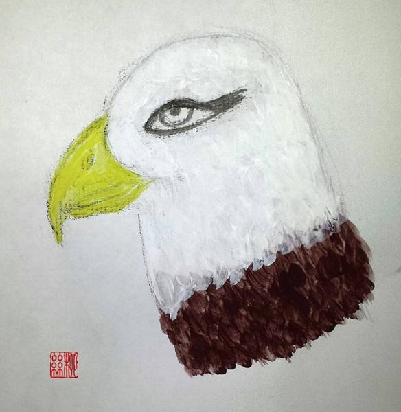 Painting - Vision Of An Eagle by Margaret Welsh Willowsilk