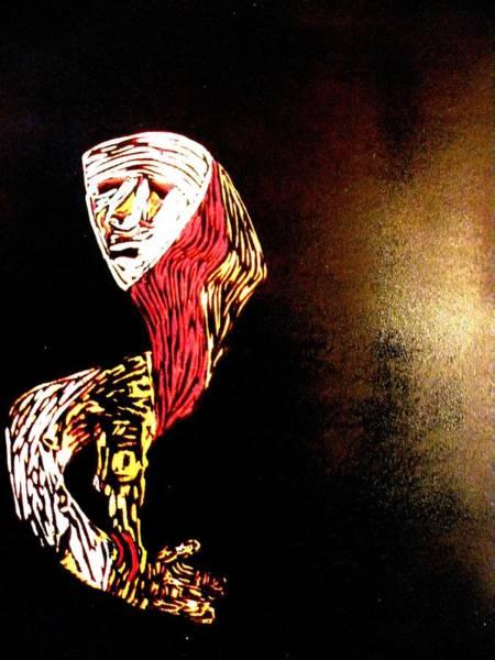 Linoleum Mixed Media - Vision by Patricia Bigelow