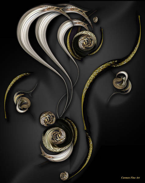 Digital Art - Visionary Material by Carmen Fine Art