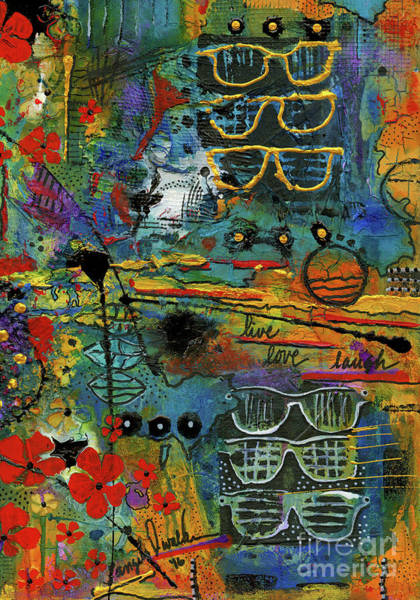 Wall Art - Mixed Media - Visions Of A Good Life by Angela L Walker
