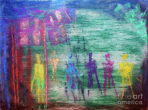 Pastel - Visions Of Future Beings by Lance Sheridan-Peel