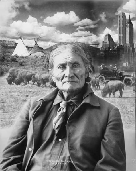 Photograph - Visions Of Geronimo by Richard Reeve