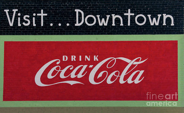 Photograph - Visit Downtown by Dale Powell