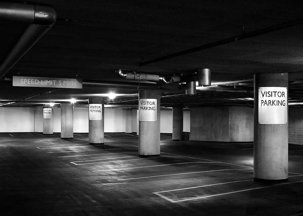 Photograph - Visitor Parking by Todd Klassy