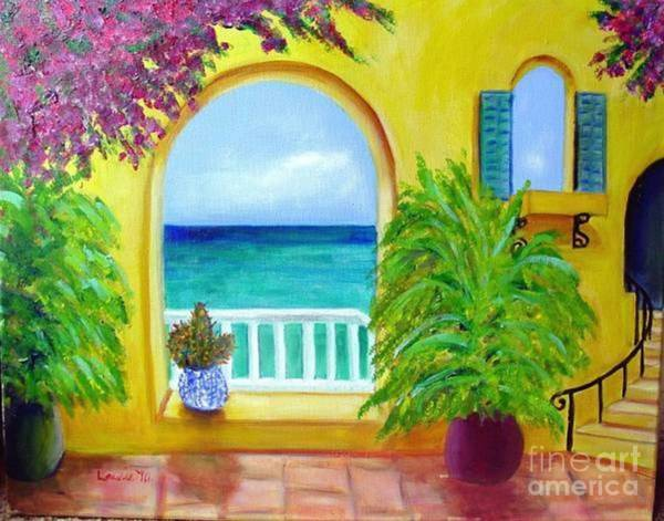 Painting - Vista Del Agua by Laurie Morgan