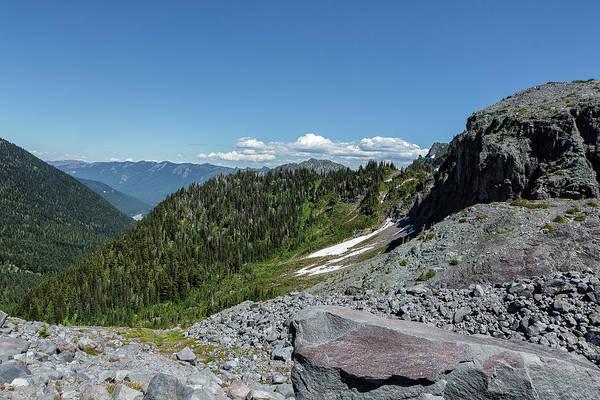 Photograph - Vista From Mt Rainier At Summerland by Belinda Greb