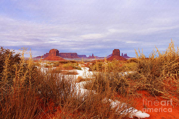 Photograph - Vista - Monument Valley by Beve Brown-Clark Photography
