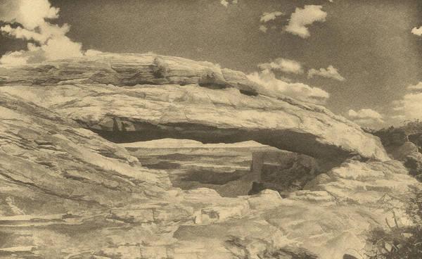 Photograph - Vista Through Mesa Arch Ant by Theo O'Connor