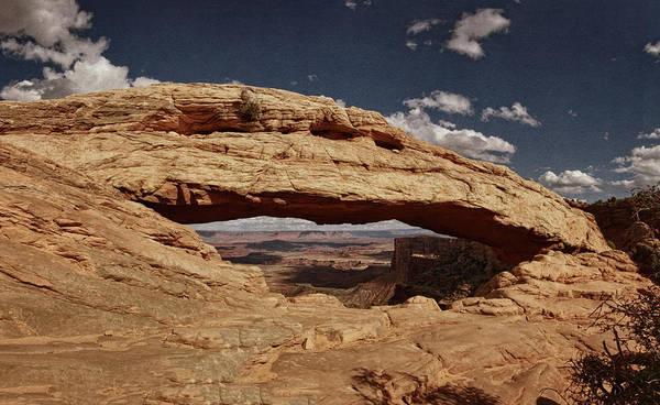 Photograph - Vista Through Mesa Arch Vnt by Theo O'Connor