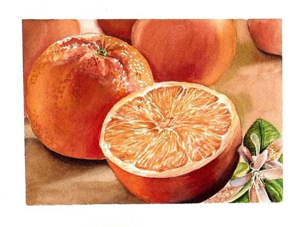 Medicine Painting - Vitamin C by Irina Sztukowski