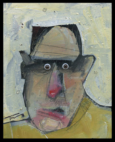Painting - Vito With Eyes by Tim Nyberg
