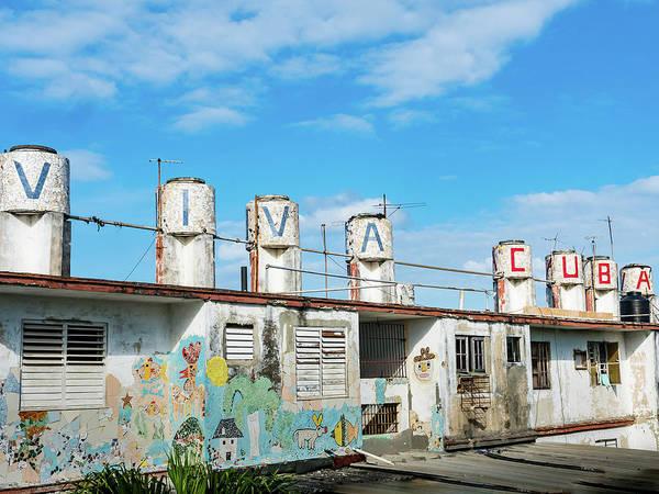 Photograph - Viva Cuba by Robin Zygelman