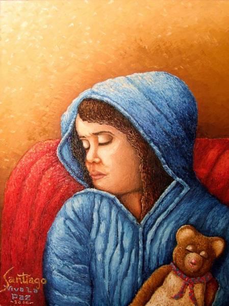 Painting - Viva La Paz by Santiago Chavez