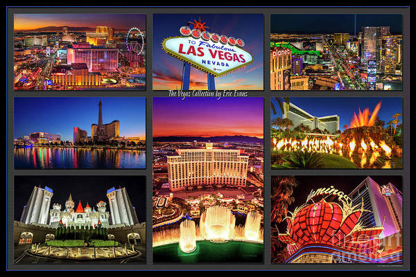 Bellagio Hotel Photograph - Viva Las Vegas Collection by Aloha Art