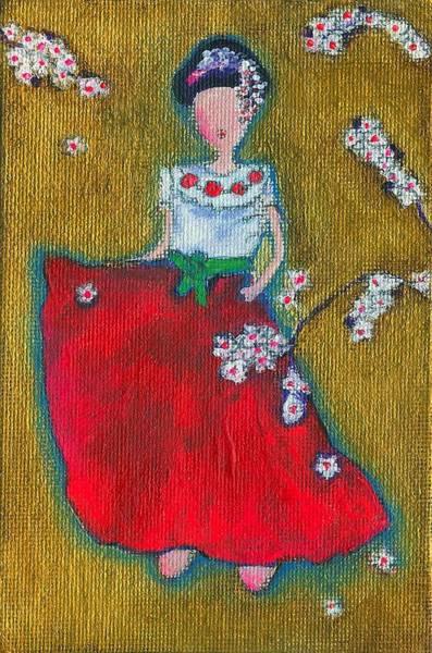 Viva Sakura Art Print by Ricky Sencion